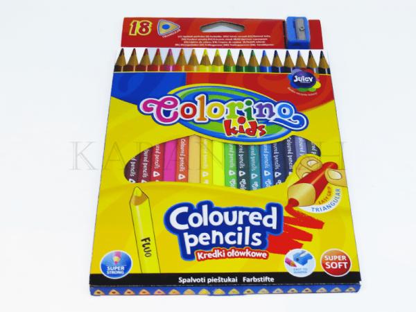 Մատիտներ գունավոր Colorino 57431PTR