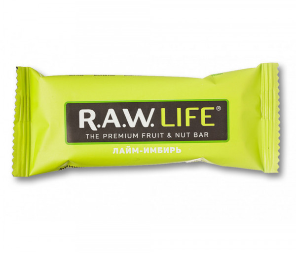 R.A.W. Life Lime-Ginger 47g