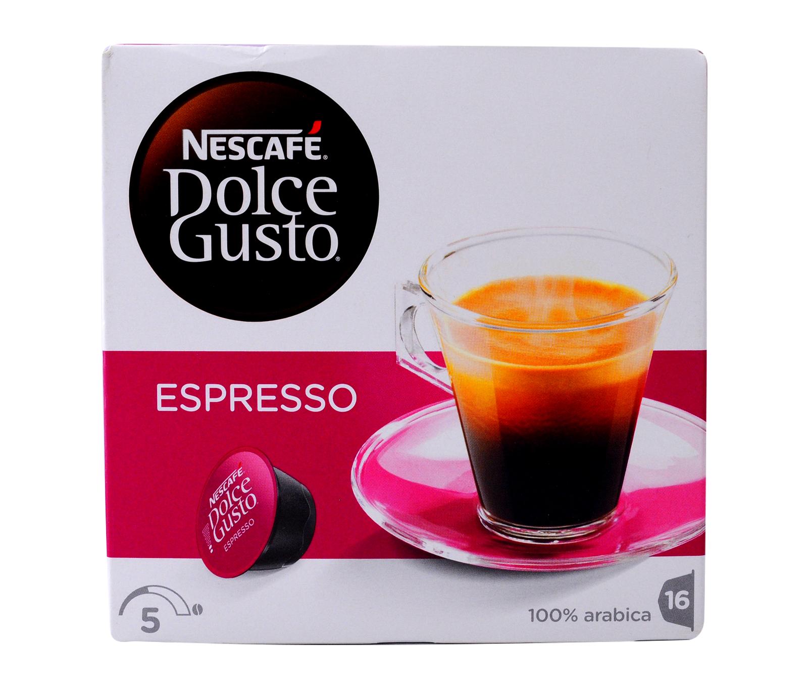 Nescafe Dolce Gusto Espresso 96g Capsules Filters