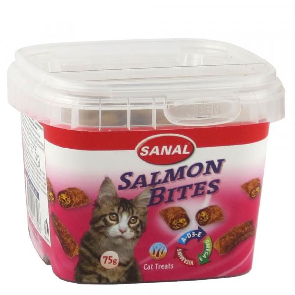 Կատվի անուշեղեն Salmon Bites 75 գ