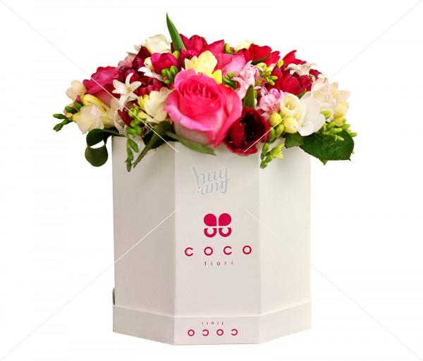 Flower arrangement Clarissa (large) Coco Fiori