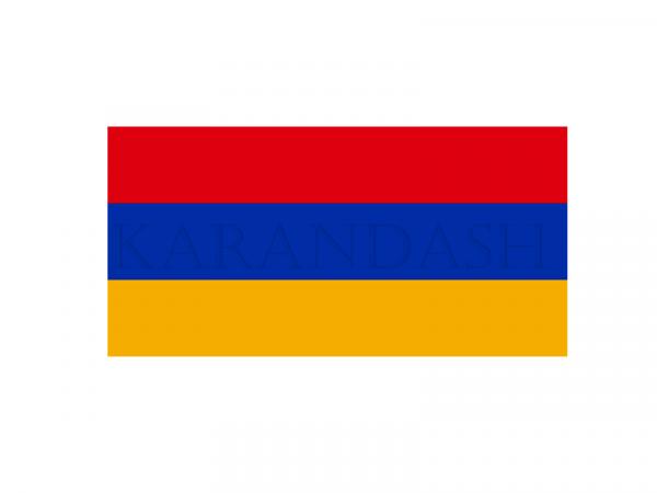 Դրոշ Հայաստանի 0.50x1մ