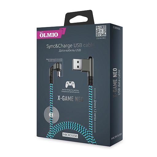 Մալուխ X-Game Neo USB 2.0 - microUSB 1.2մ