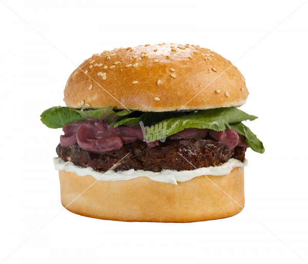 Բուրգեր «Beef - Blue Cheese» (մեծ) Black Angus