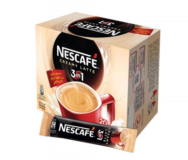 Նեսկաֆե Լուծվող սուրճ Կարամել/Լատտե 3/1 13գx20