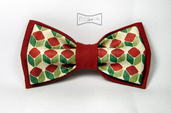 Թիթեռ-փողկապ (տպագրությամբ) Bow-X