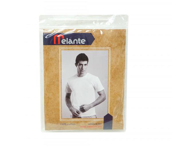 Մելանտե Տղամարդու կիսաթև շապիկ Սպիտակ 910252
