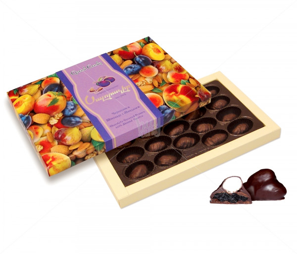 Կոնֆետների ընտրանի «Շոկոլադապատ սալորաչիր» Grand Candy