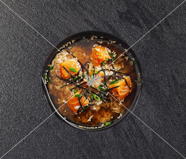 Սակե Սուիմոնո ապուր AKO Sushi