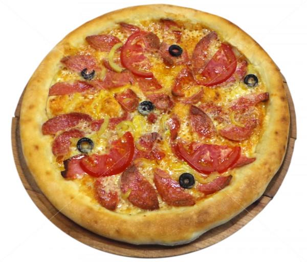 Պիցցա «Սալյամիով» Դոկա Պիցցա