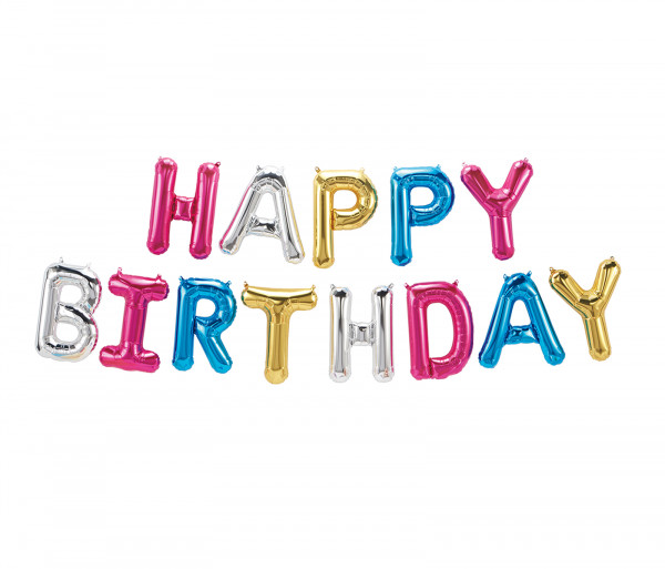 Փուչիկ Happy Birthday (օդով)