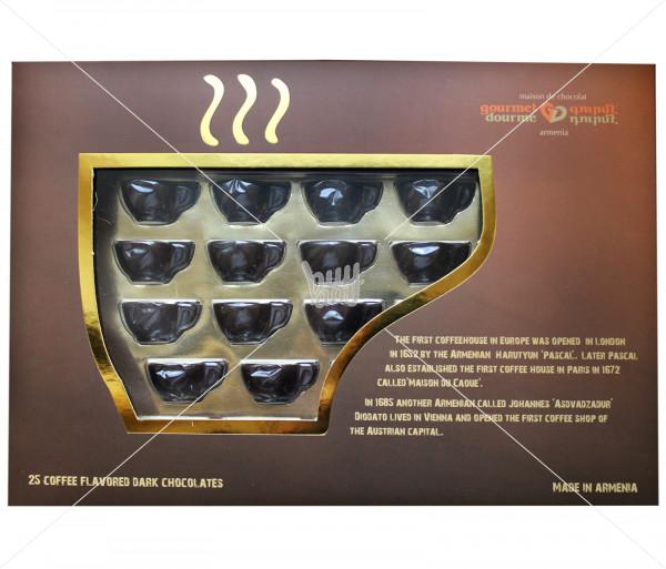 Շոկոլադե կոնֆետներ «Սուրճի բաժակներ» Gourmet Dourme