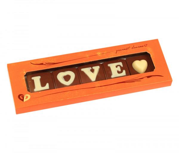 Շոկոլադ «Love» Gourmet Dourme