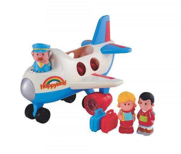 Խաղալիք ինքնաթիռ օդաչուով և ուղևորներով, տարիք՝ 2-5տ. 137180EL