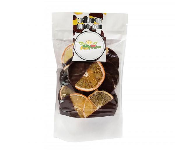 Նարնջի չիպս «Fun Fruits» Շոկոլադապատ 80գ