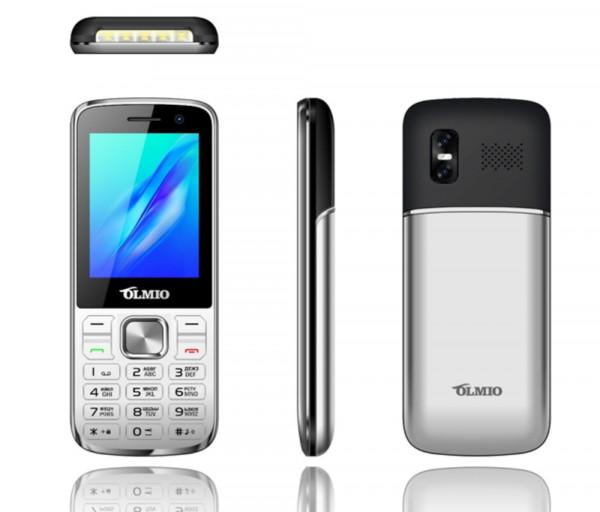 Mobile phone Olmio M22 Silver