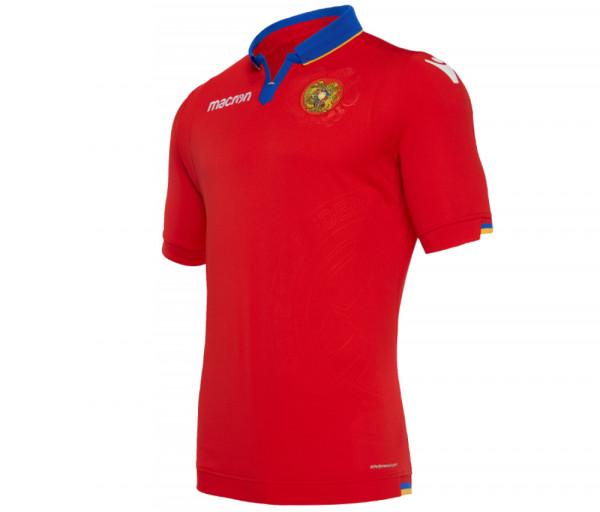 Հայաստանի հավաքականի խաղային շապիկ (կարմիր)