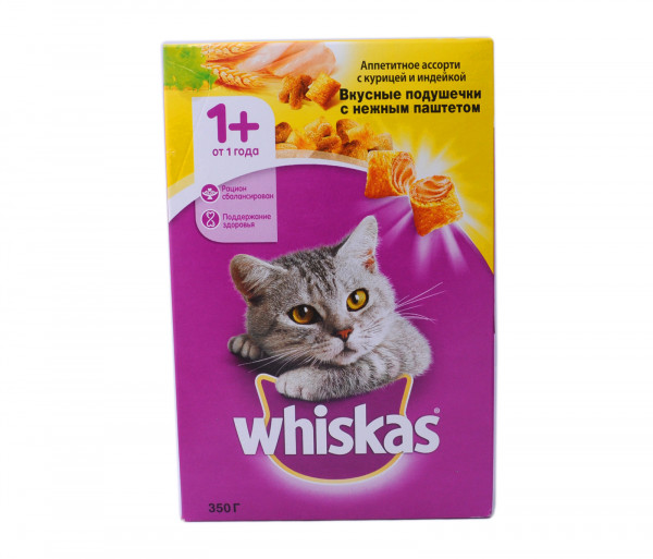 Whiskas Cat food Chicken, Duck, turkey 350g
