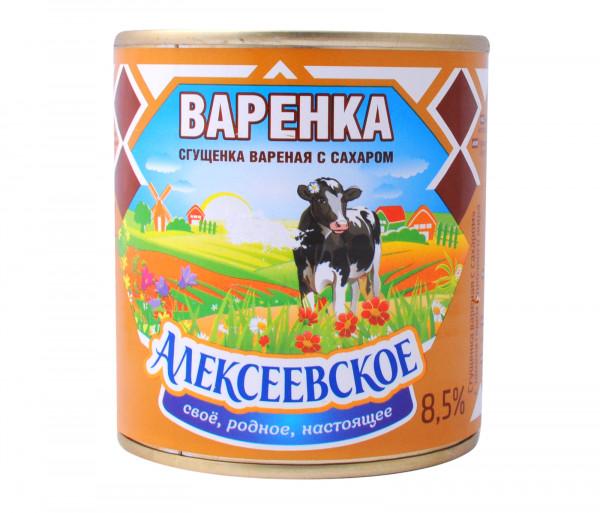 Ալեքսեեվսկոե Եփած Խտացրած կաթ 370գ
