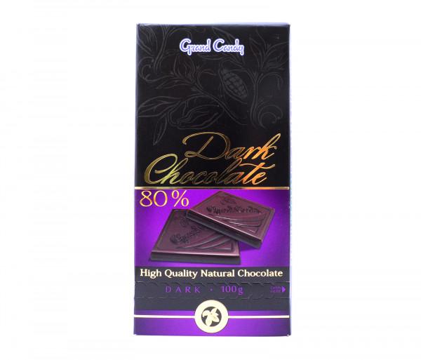 Գրանդ Քենդի Դառը Շոկոլադ 80% 100գ