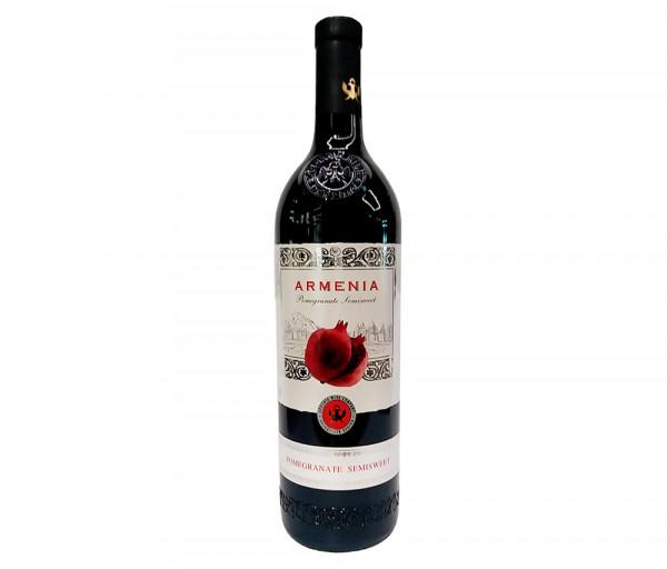Գինի «Armenia» նռան, կիսաքաղցր 0.75լ
