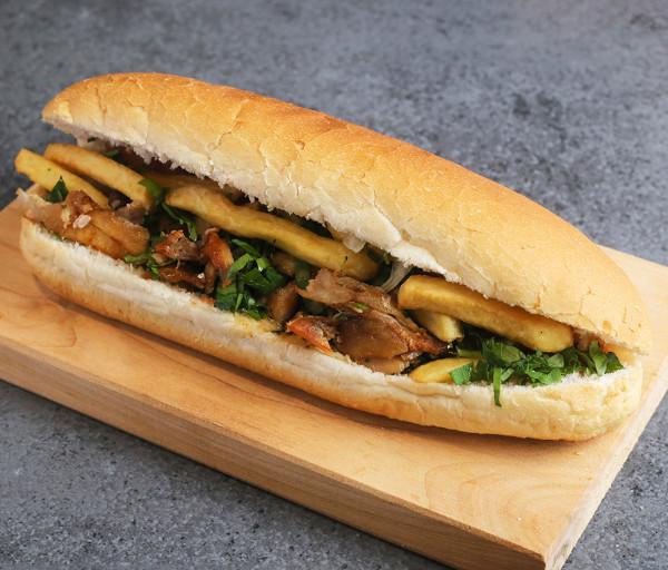 Հավի շաուրմա հացով Թումանյան Շաուրմա