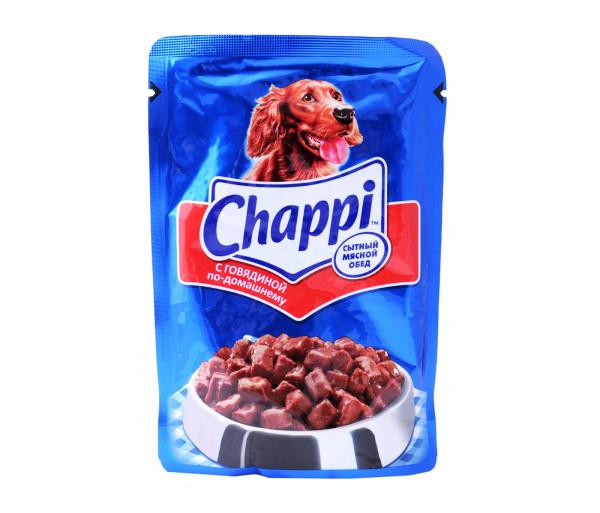Չապպի Շան կեր Տավարի մսով Տնական 100գ