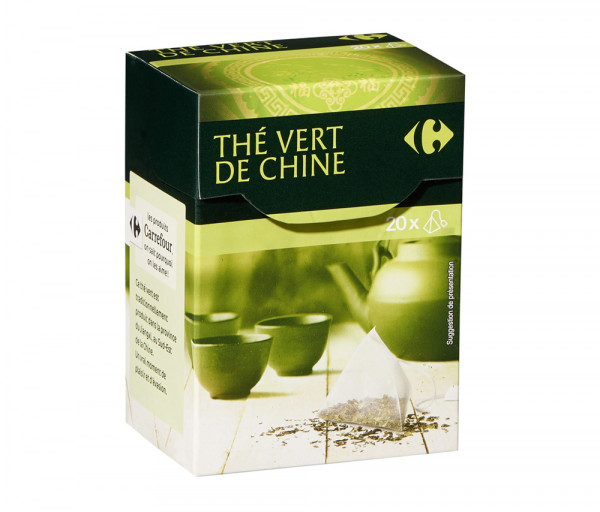 Քարֆուր Չինական կանաչ թեյ x20