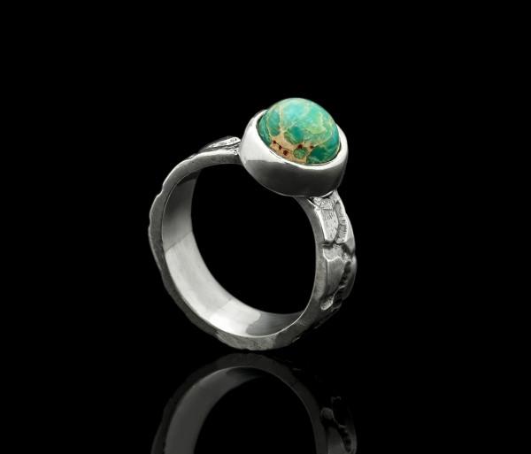 Փիրուզե քարով մատանի Tevos Jewelry