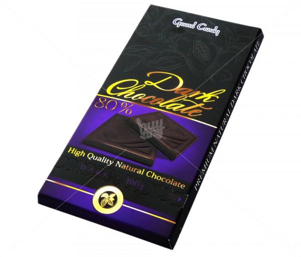 Դառը շոկոլադ 80% Grand Candy