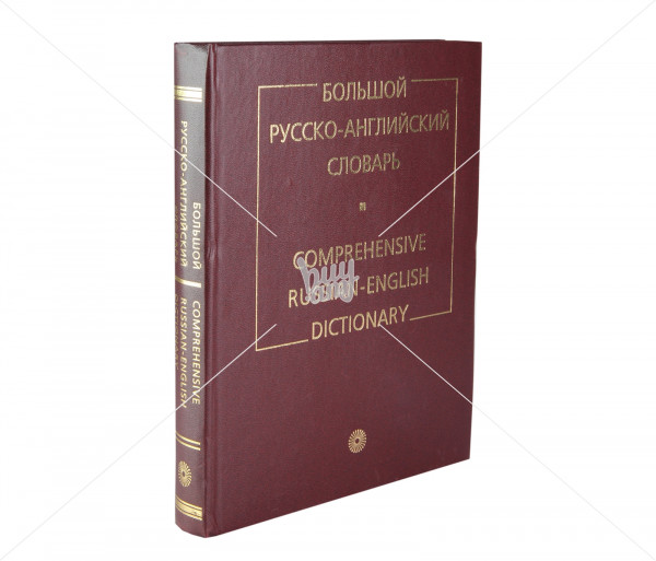 Comprehensive Russian-English dictionary Noyan Tapan
