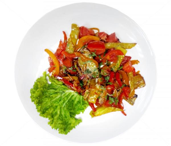 Տապակած բանջարեղեն Դոկա Պիցցա
