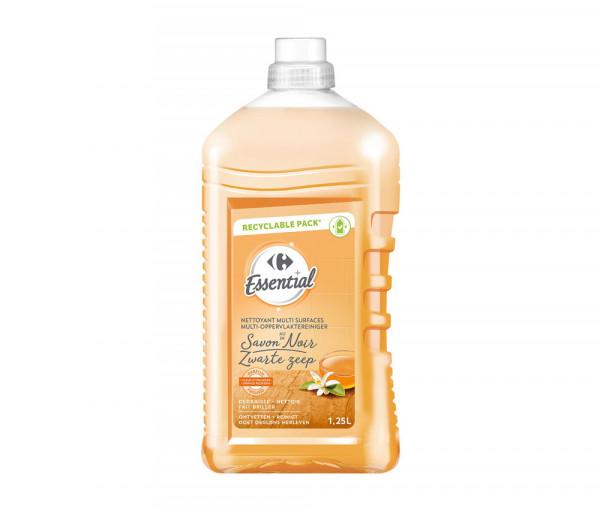 Քարֆուր Կենցաղային մաքրող հեղուկ Սև օճառ 1.25լ