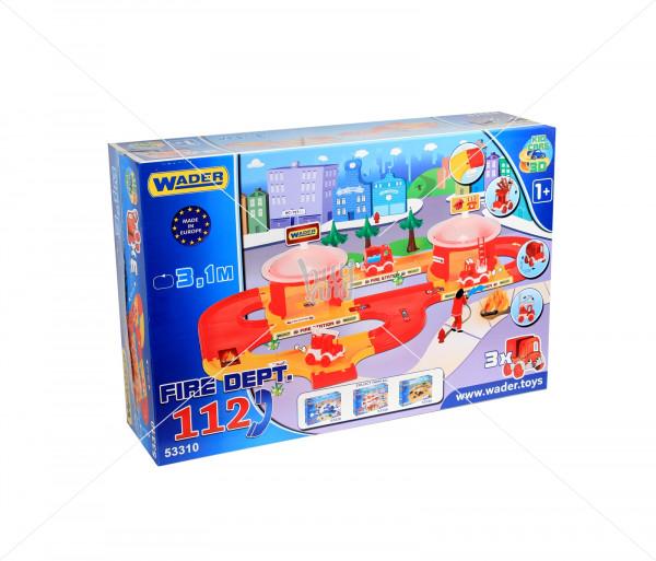 Խաղային հավաքածու «Հրշեջ կենտրոն» Wader