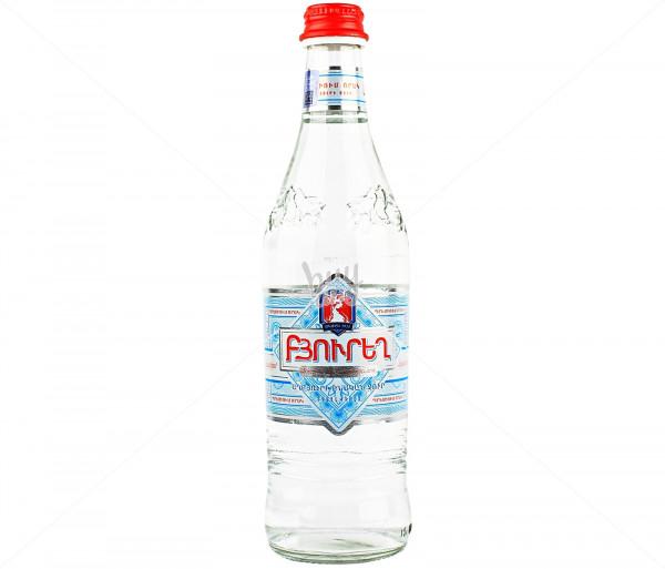 Աղբյուրի ջուր «Բյուրեղ» 0.5լ