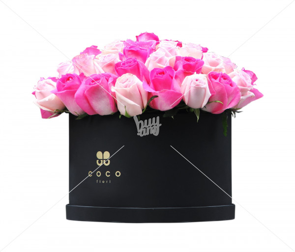 Ծաղկային կոմպոզիցիա «Magici Rose» (մեծ) Coco Fiori