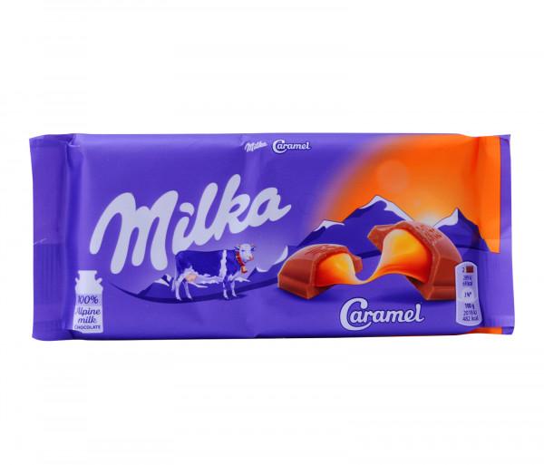Միլկա Կարամել Շոկոլադ 100գ
