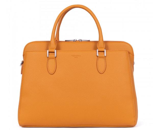 Կանացի պայուսակ Top Handle Orange Hexagona