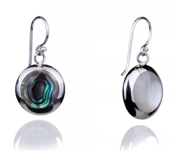Silver earrings SE322