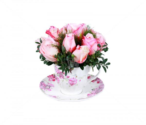 Ծաղկեփունջ «Վարդագույնի հմայքը» Anahit