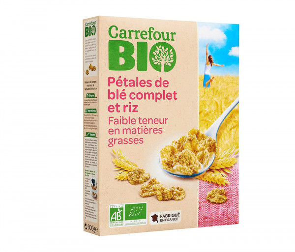 Carrefour Bio Cereal Rice & Wheat 300g