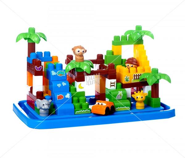 Կոնստրուկտորների հավաքածու «Safari» Mega Bloks