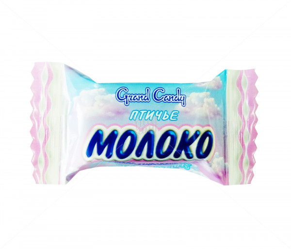 Հարած կոնֆետներ «Թռչնի կաթ» ոչ շոկոլադապատ Grand Candy