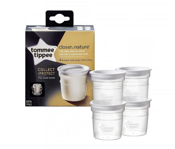 Tt Ctn 4x Milk Storage Pots Al 523010TT
