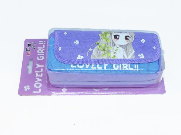 Գրչատուփ SFei Lovely Girl SF1726