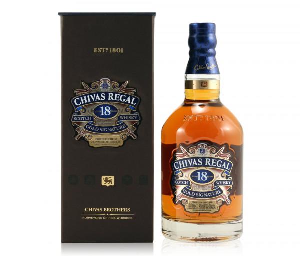 Վիսկի «Chivas Regal 18 YO» 0.7լ
