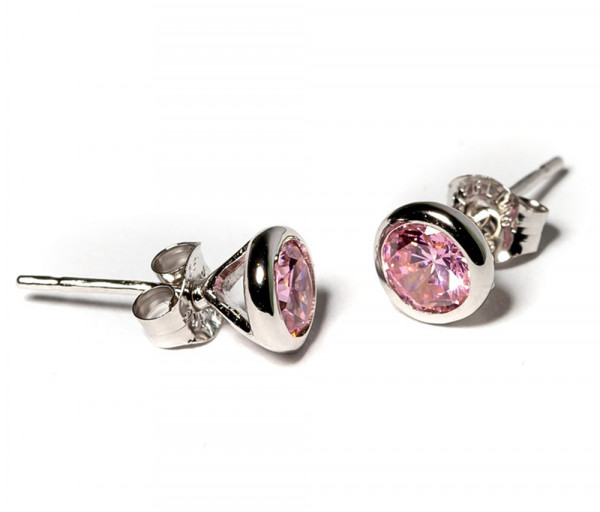 Silver earrings SE193P