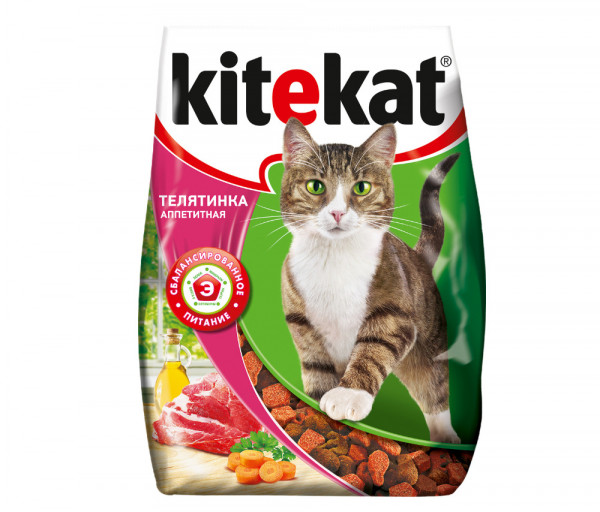 Kitekat Cat Food Beef 350g