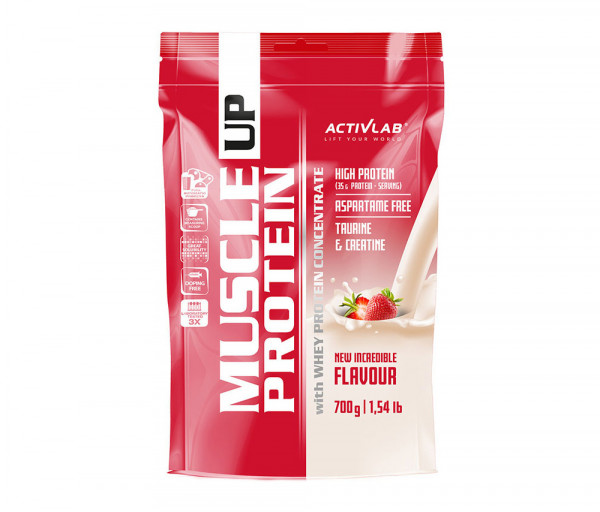 Muscle UP Protein 700g Strawberry