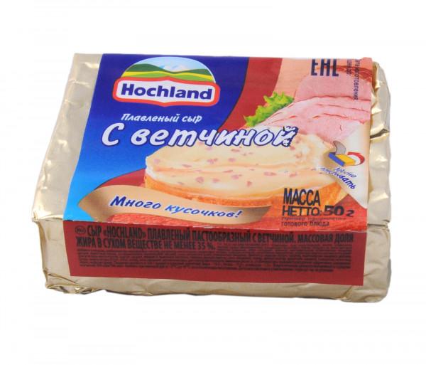 Հոխլանդ Հալած պանիր խոզապուխտով 50գ